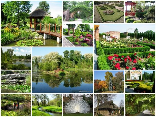 Ogrody do zwiedzania
