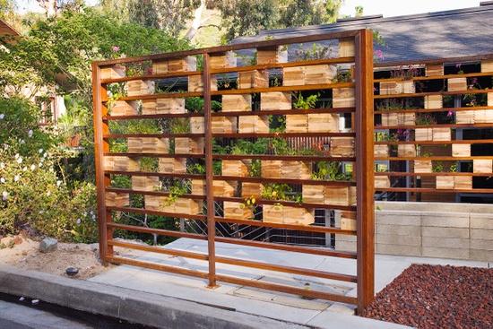 Naj adniejsze nowoczesne warzywniki ogrodnik tomek for Creative privacy screen ideas