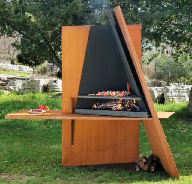 Jaki grill wybra naj adniejsze grille ogrodowe z for Modelos de parrillas modernas
