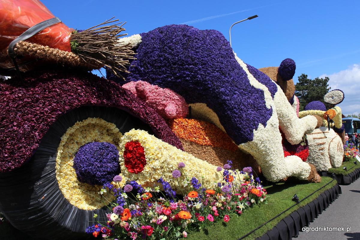 Parada Kwiat 243 W W Holandii 2014 Nasza Relacja Z Bloemencorso Bollenstreek Flower Parade