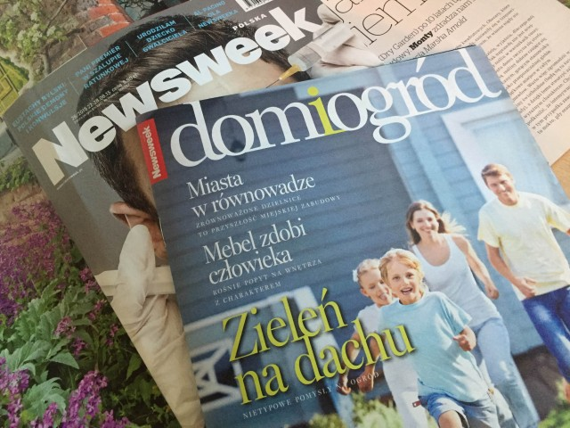 Newsweek -ogrodnik Tomek