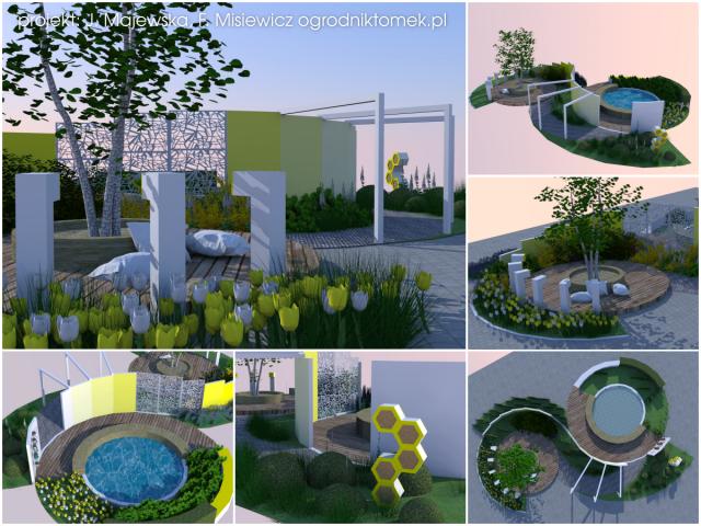 ogrod zmyslow 2 koncepcja architektura krajobrazu warszawa
