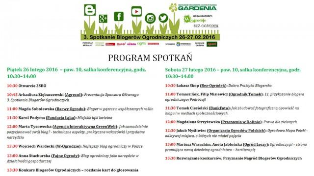 Gardenia 3. Spotkanie Blogerów Ogrodniczych