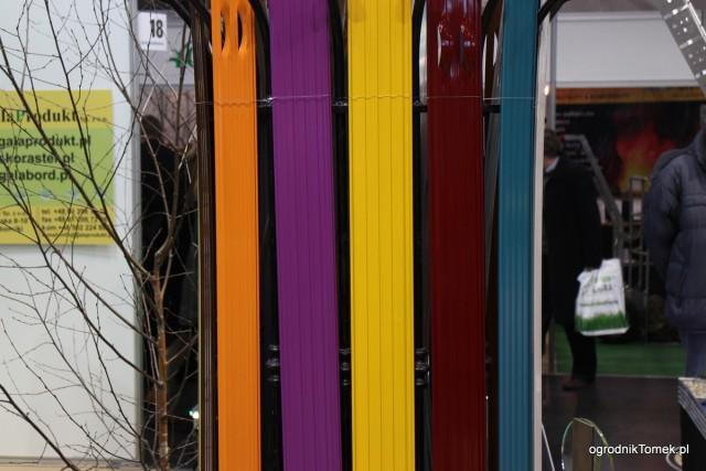 Kolorowe obrzeża stalowe - Gala Produkt