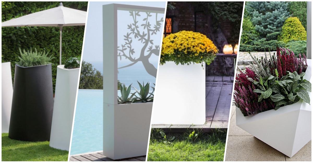 Najładniejsze donice do ogrodu, na balkon, na taras – Ogrodowe Perełki z Allegro cz. IV